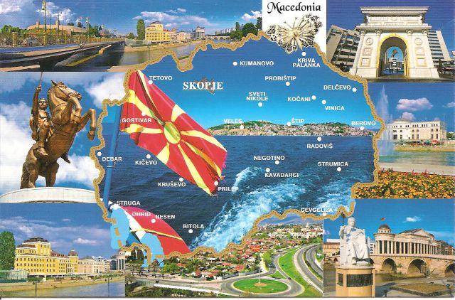 Travel guide to macedonia the most important information postcard macedonia publicscrutiny