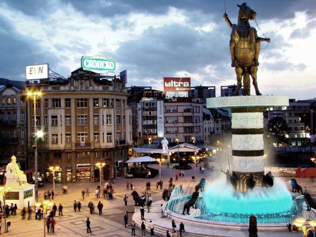 Skopje center