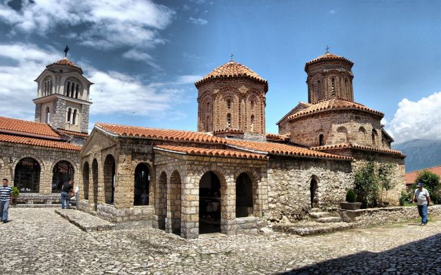 Sveti Naum monastery today